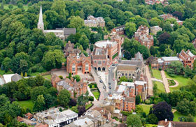 Aerial View of Harrow School
